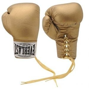 Men's Autograph Everlast Boxing Gloves