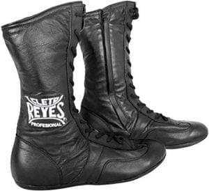 Cleto Reyes Leather High Top Boxing Shoes