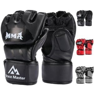 brace master sparring gloves