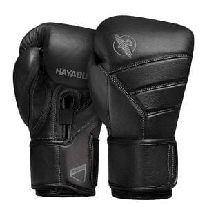 Hayabusa leather boxing gloves