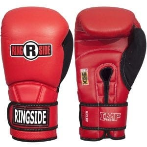 Ringside gel shock boxing gloves
